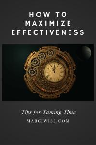 maximize effectiveness