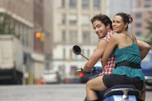 moto casal