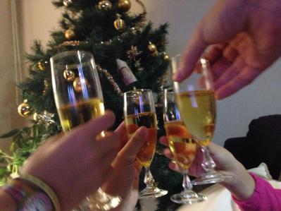 toasting